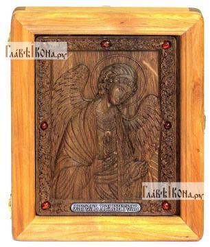 Резная икона Ангела Хранителя, артикул 22091