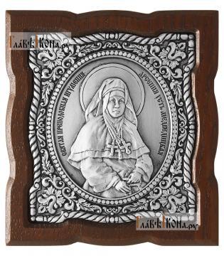 Серебряная икона Арсении Усть-Медведицкой, артикул 11235