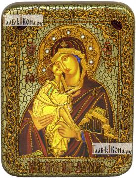 Доская, икона подарочная на дубовой доске, 15х20 см