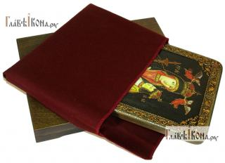 Белыничская, аналойная подарочная икона - вид в комплекте