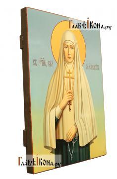 Елизавета Алапаевская, писаная икона маслом - вид сбоку
