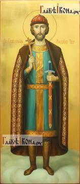 Михаил Тверской, меная икона в живописном стиле