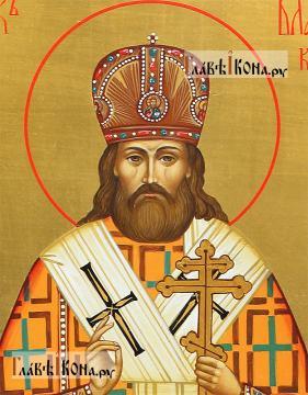 Владимир Киевский и Галицкий, мерная икона с золочением - детали образа
