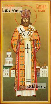 Владимир Киевский и Галицкий, мерная икона с золочением