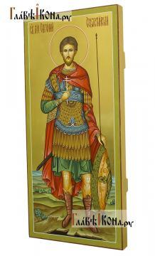 Мерная икона Евгения мученика, артикул 113 - вид сбоку
