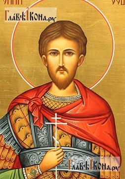 Мерная икона Евгения мученика, артикул 113 - детали образа