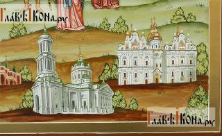Семейная икона с пятнадцатью святыми покровителями семьи - храмы справа