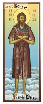 Алексий, человек Божий (на облаках), мерная икона