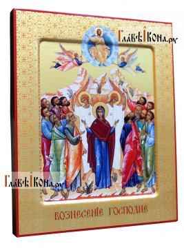 Воскресение Христово (с Богородицей) икона печатая, артикул 90499 - вид сбоку