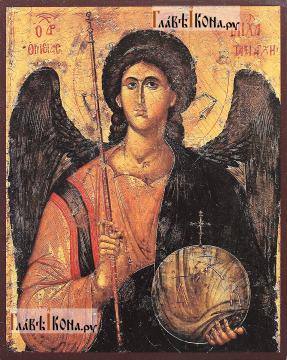 Архангел Михаил (греческий стиль) икона печатная, артикул 90501
