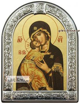 Владимирская Божия Матерь икона с рамкой