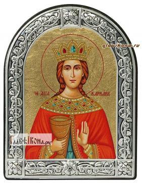 Варвара великомученица икона с рамкой