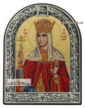 Александра Римская икона с рамкой