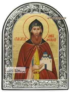 Даниил Московский икона с рамкой