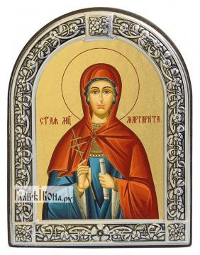 Маргарита Антиохийская икона с рамкой