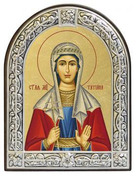 Татьяна Римская икона с рамкой