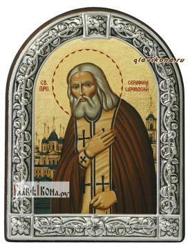 Серафим Саровский икона с рамкой