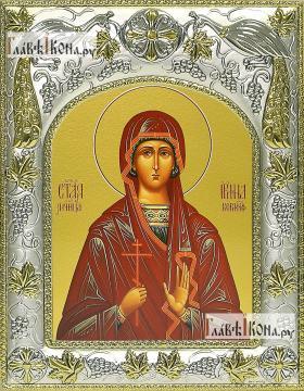 Ирина Коринфская, икона в ризе, артикул 42813