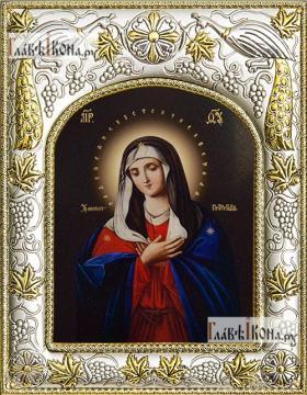 Умиление Божия Матерь, икона в ризе, артикул 42833