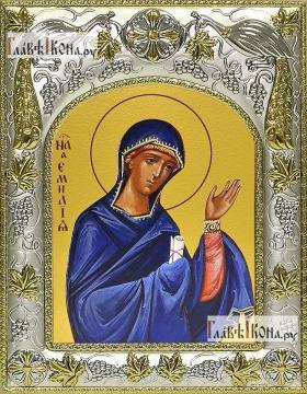 Эмилия (Емилия) Кесарийская, икона в ризе, артикул 42835
