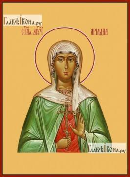Ариадна Промисская, икона на дереве печатная