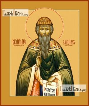 Вадим Персидский, икона на дереве печатная