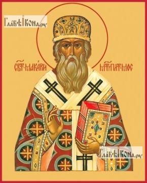 Макарий, митрополит Московский, печатная икона