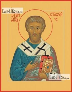 Стахий епископ Византийский, печатная икона