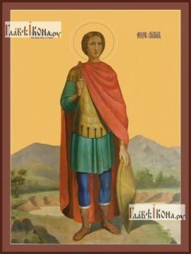 Феодор Стратилат, печатная икона