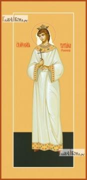 Татиана Романова, царевна (ростовая), икона на дереве печатная