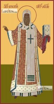 Гермоген, Патриарх Московский, икона на дереве печатная