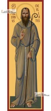 Емилиан Кукуллат (ростовой), икона на дереве печатная