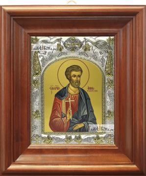 Инна Новодунский, икона в ризе, артикул 42812 - вид в киоте