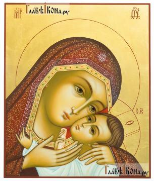Рукописная икона Корсунской Божией Матери, артикул 276