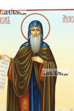 Святой Тихон Луховский, писаная икона артикул 6243 - детали образа