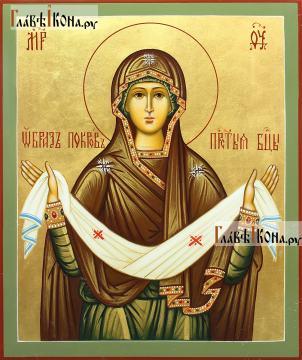 Покров Пресятой Богородицы икона артикул 275