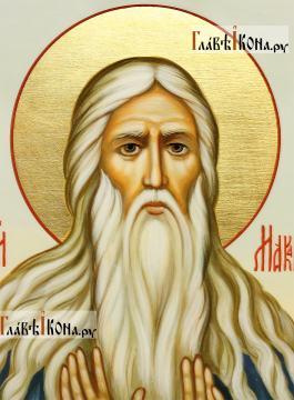 Икона Преподобный Макарий Великий (Египетский), артикул 542 - детали образа