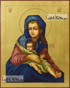 Милостивая Киккская Божия Матерь - изображение рукописной иконы