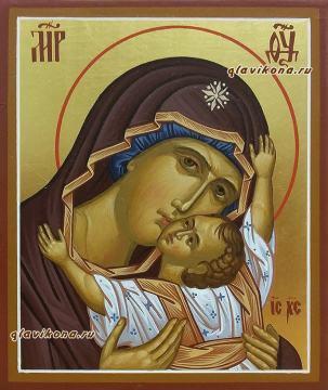 Сердечная Божия Матерь (Кардиотисса), икона арткул 5329