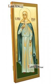 Ариадна Промисская, рукописная мерная икона - вид сбоку
