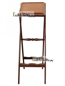 Аналой деревянный складной, артикул 10301 - вид спереди