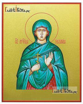 Пелагия Тарсийская, икона печатная на доске
