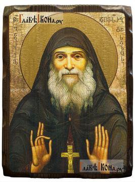Гавриил Ургебадзе, икона с искусственным старением