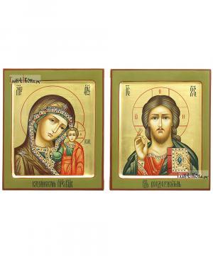 Венчальная пара с золояением и ковчегом, артикул 344
