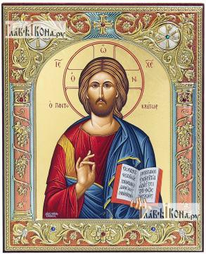 Спас, греческая икона 12х14 см