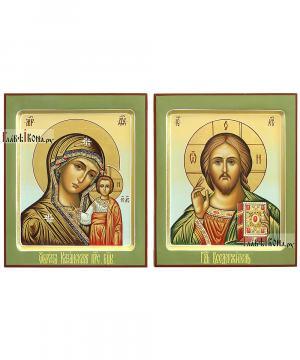 Венчальная пара с Казанской, артикул 301