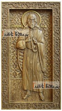 Илия Пророк - резная икона, артикул 25023-01