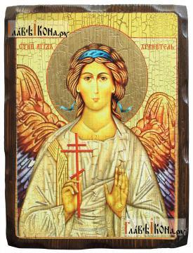 Ангел Хранитель, состаенная икона 18х24 см
