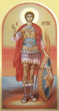 Икона мученика Уара