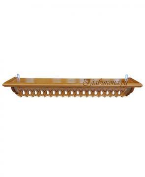 полка с ажурной резьбой длиной 68 сантиментов
